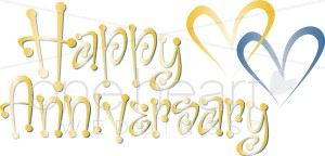 Happy 40th anniversary clipart vector freeuse Happy Marriage Anniversary Clipart - Clipart Kid vector freeuse