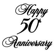 Happy 50th anniversary clipart vector free Happy 50th anniversary clipart - ClipartFest vector free