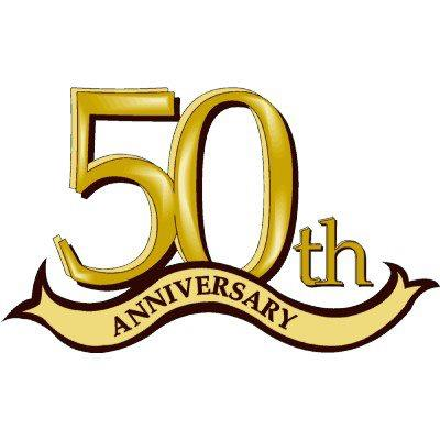 Happy 50th anniversary clipart vector freeuse stock Happy 50th anniversary clipart - ClipartFest vector freeuse stock