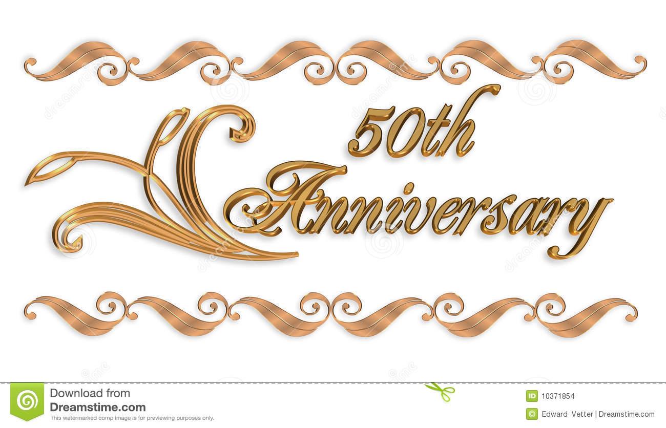 Happy 50th anniversary clipart clip black and white library 50th Anniversary Clipart & 50th Anniversary Clip Art Images ... clip black and white library