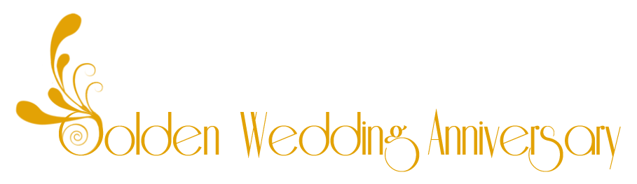 Happy 50th anniversary clipart clipart library library Golden wedding anniversary clipart - ClipartFest clipart library library