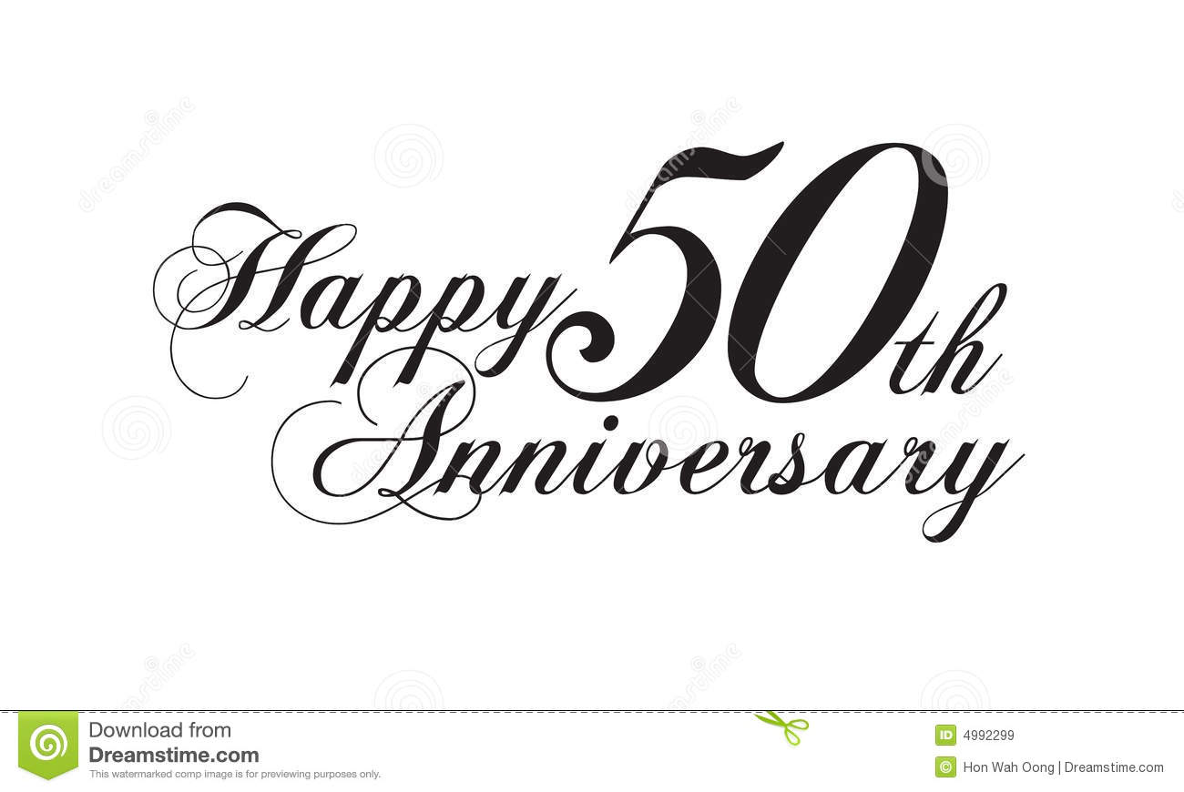 Happy 50th anniversary clipart image royalty free download Happy 50th anniversary clipart - ClipartFest image royalty free download