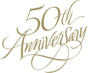 Happy 50th anniversary clipart svg black and white stock 50th Anniversary Clipart & 50th Anniversary Clip Art Images ... svg black and white stock