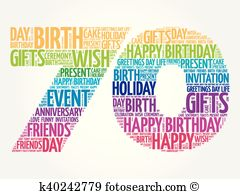 Happy 70th birthday clipart png black and white library 70th birthday Clipart Royalty Free. 135 70th birthday clip art ... png black and white library
