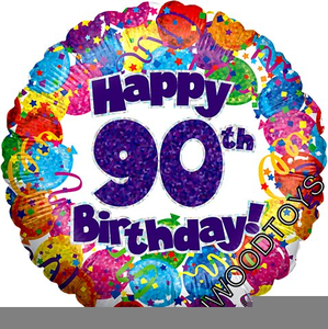 Happy 90th birthday free clipart vector library library Free Th Birthday Clipart   Free Images at Clker.com - vector clip ... vector library library