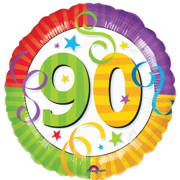 Happy 90th birthday free clipart png transparent 90th Birthday Balloons Clipart - Free Clipart png transparent