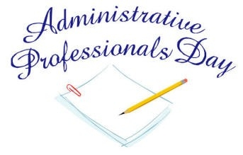 Happy administrative professionals day clipart clip art freeuse download Administrative Assistant Day Clipart | Furniture Walpaper clip art freeuse download