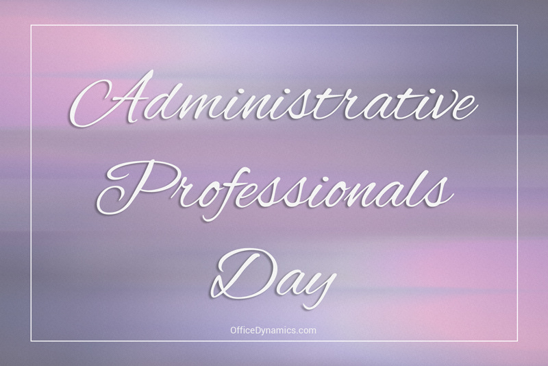 Happy administrative professionals day 2019 clipart free clip royalty free download Administrative Professionals Day is Just Around the Corner clip royalty free download
