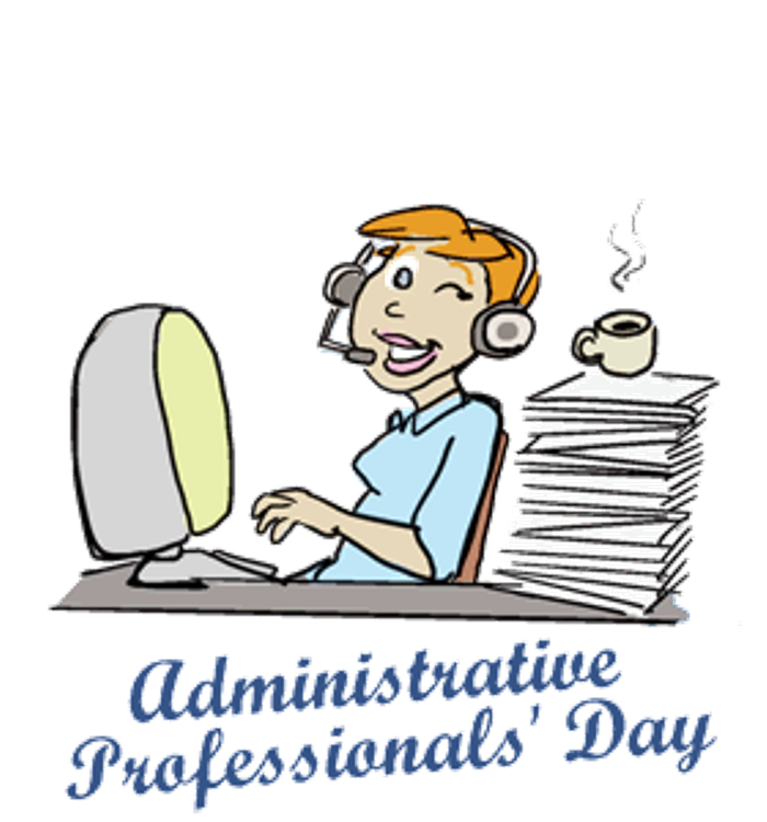 Happy admin day clipart picture free download Images of administrative professionals day clipart images gallery ... picture free download