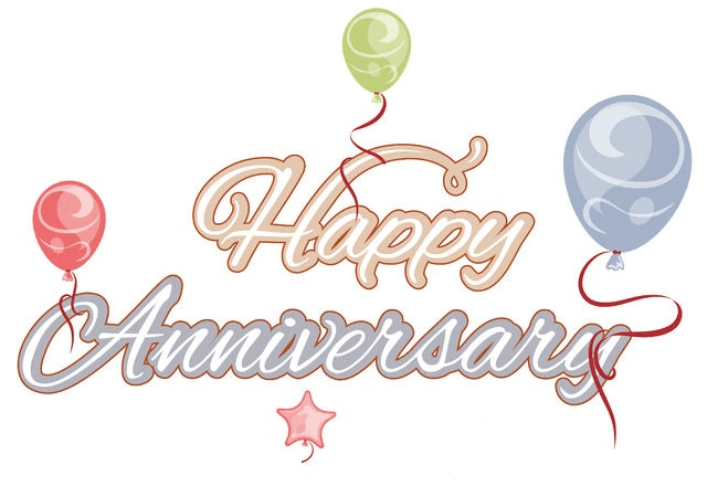 Happy anniversarry clipart for facebook transparent stock Happy Anniversary - Facebook Symbols and Chat Emoticons transparent stock