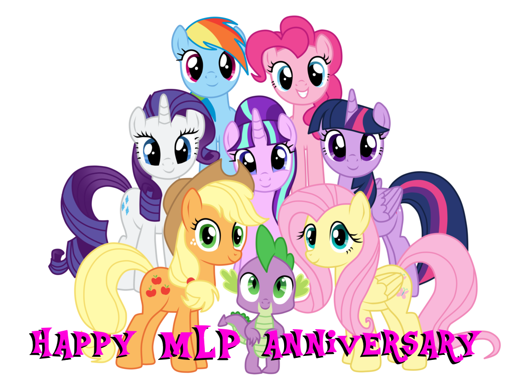 Happy anniversary animated clip art picture freeuse library The MLP Anniversary by jaedenwalton on DeviantArt picture freeuse library
