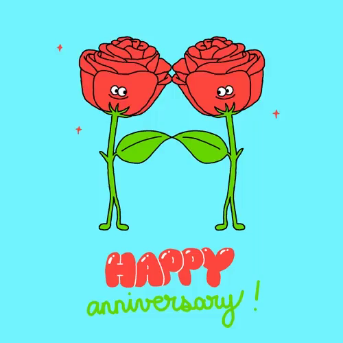 Happy anniversary animated clipart jpg freeuse download Happy Wedding Anniversary GIFs | Tenor jpg freeuse download
