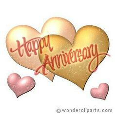 Happy anniversary cartoon clipart vector library Happy Anniversary Images with Quotes | http://weddinggifts99 ... vector library
