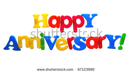Happy anniversary cartoon clipart picture freeuse Happy Anniversary Text Stock Images, Royalty-Free Images & Vectors ... picture freeuse