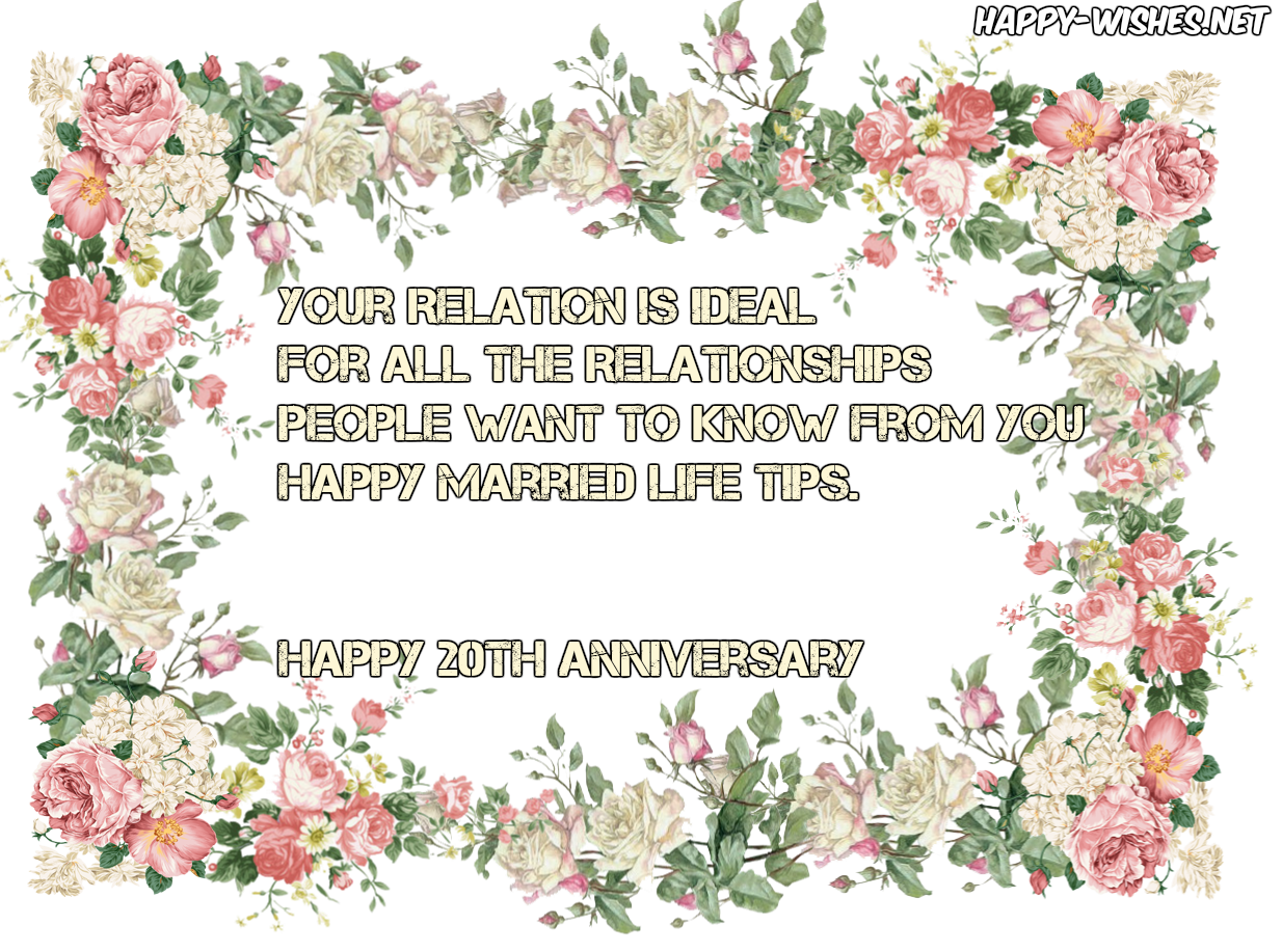 Happy anniversary clip art banner transparent stock Happy 20th Anniversary Wishes - Quotes & Messages - Happy Wishes banner transparent stock