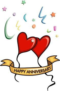 Happy anniversary clip art for facebook vector royalty free Ill have to post this on my husbands Facebook   Anniversary/5 year ... vector royalty free