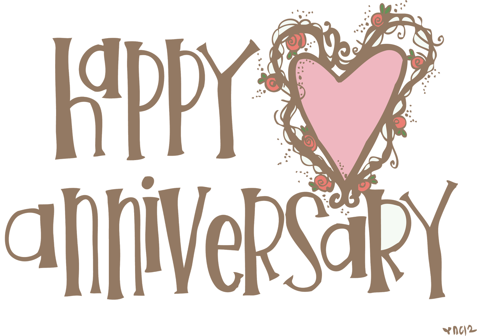 Free happy anniversary background clipart graphic black and white Happy Anniversary Quotes Poster For Cute Event Wishes And Quotes ... graphic black and white