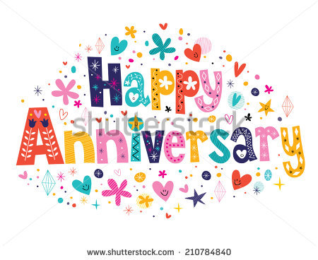Happy anniversary cute clipart image black and white download Happy Anniversary Stock Images, Royalty-Free Images & Vectors ... image black and white download