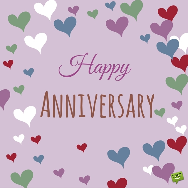 Happy anniversary cute clipart banner black and white Happy Times You've Spent Together : Happy Anniversary Wishes banner black and white