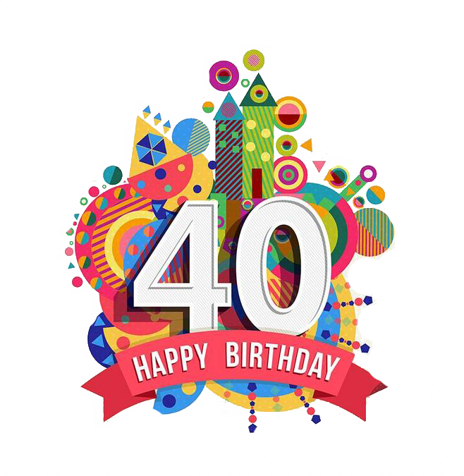 Happy anniversary facebook clipart graphic freeuse Happy Birthday to You Greeting card Clip art - Castle 40th ... graphic freeuse
