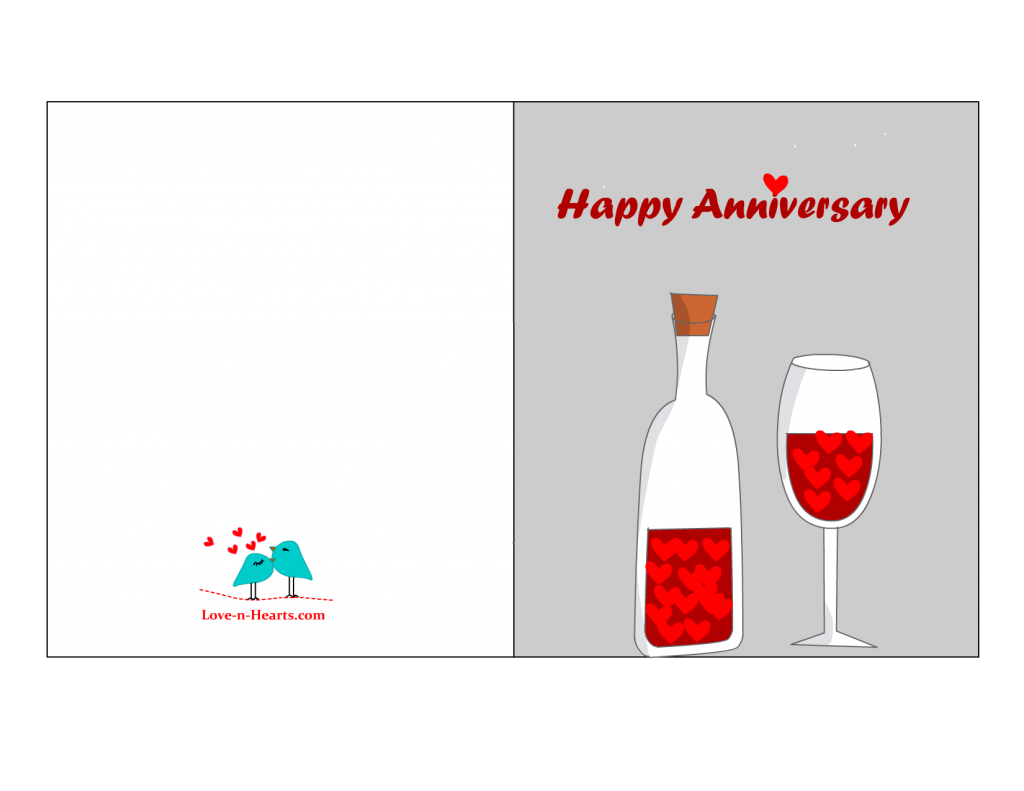 Happy anniversary funny clipart clip art freeuse library Greeting Cards: Free Printable Wedding Anniversary Cards With Bottle ... clip art freeuse library
