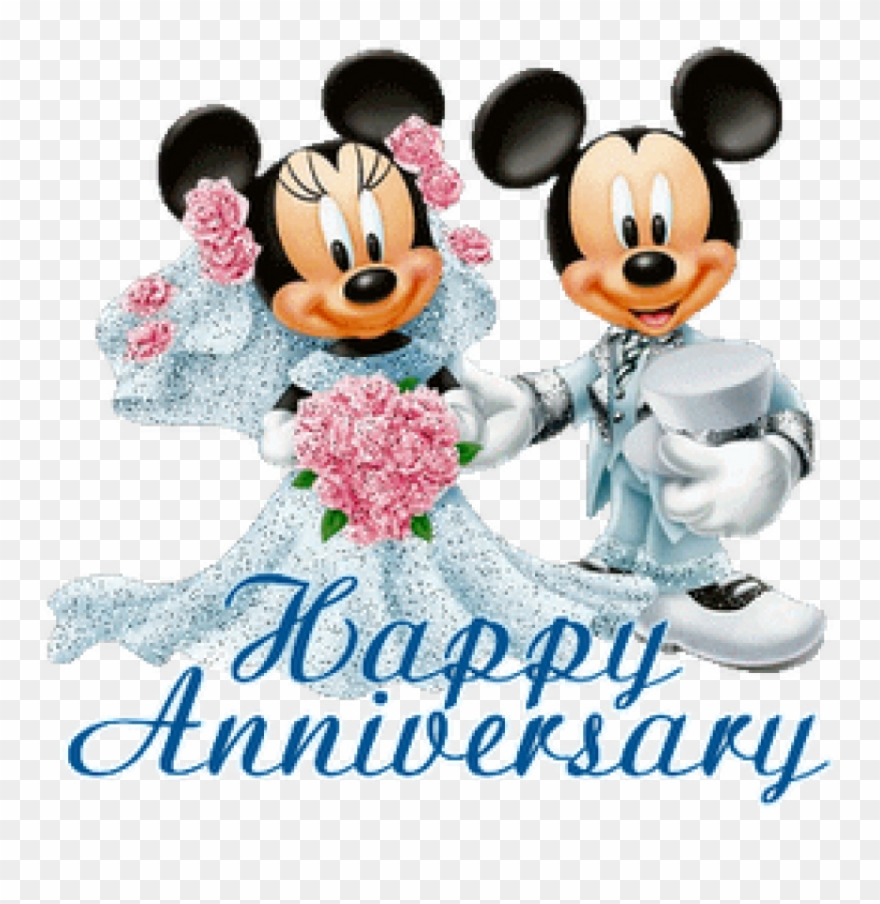 Happy anniversary to a special couple clipart picture library library Free Wedding Anniversary Clipart Free Wedding Anniversary - Mickey ... picture library library