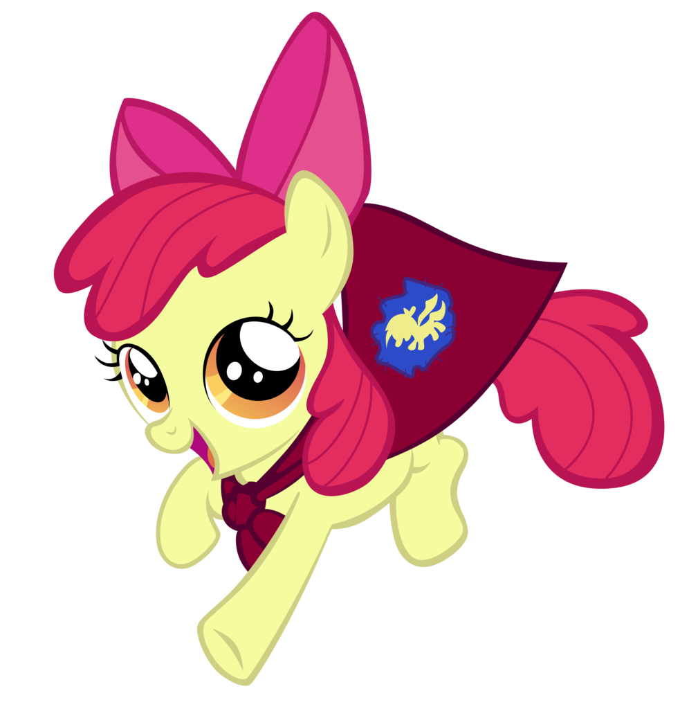 Happy apple running clipart banner free 298812 - apple bloom, artist:ahumeniy, cape, clothes, cmc cape ... banner free