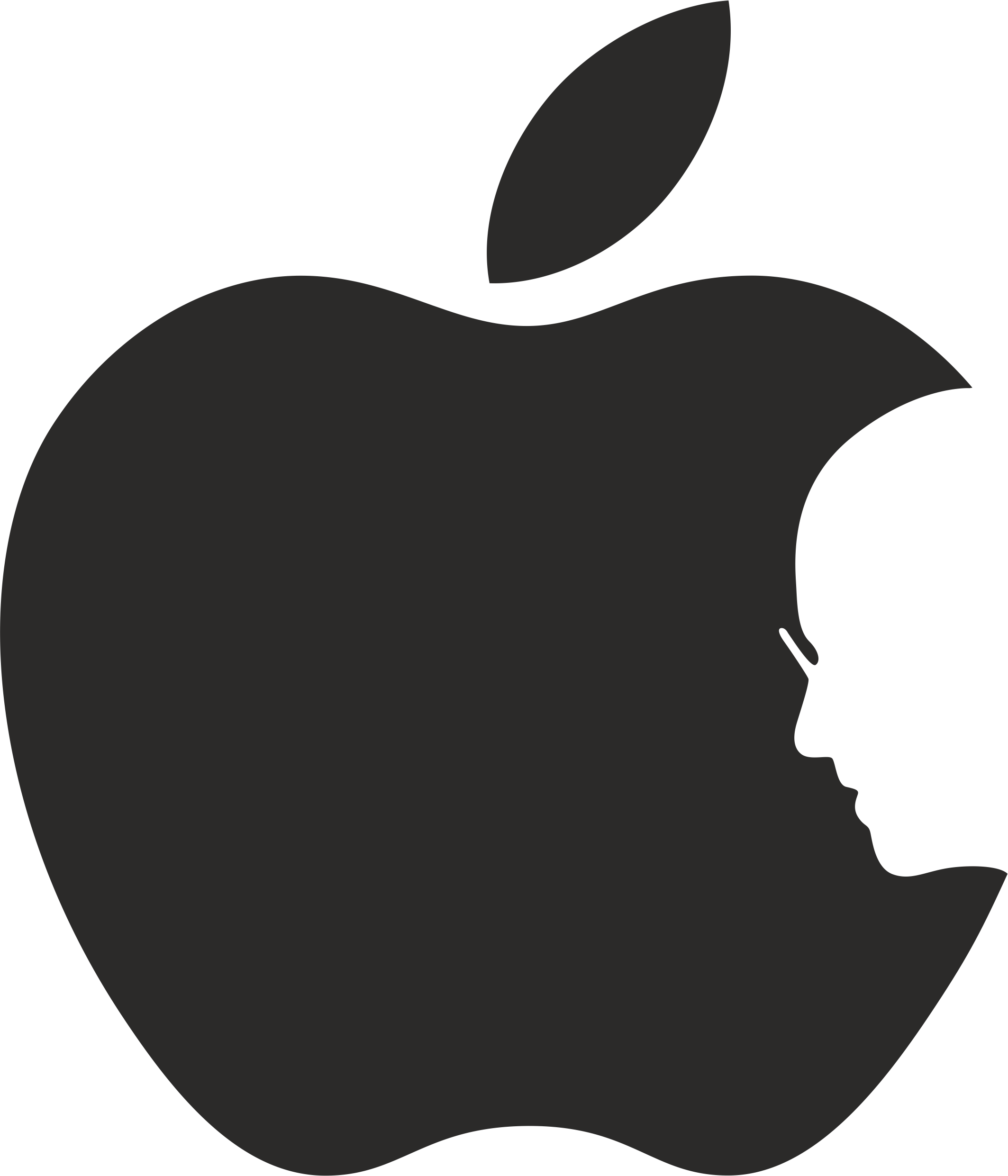 Happy apple running clipart vector freeuse stock Apple & Steve Jobs. - HESONWHEELS.COM vector freeuse stock