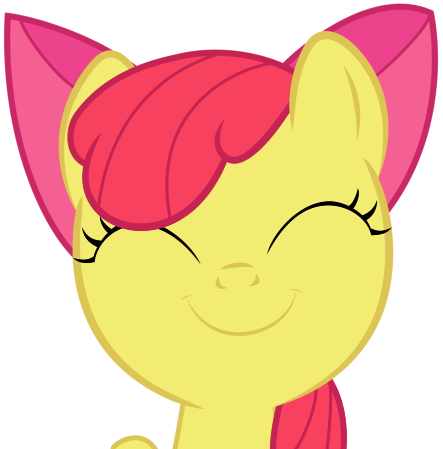 Happy apple running clipart png library Happy Apple Bloom by Kired25 on DeviantArt png library