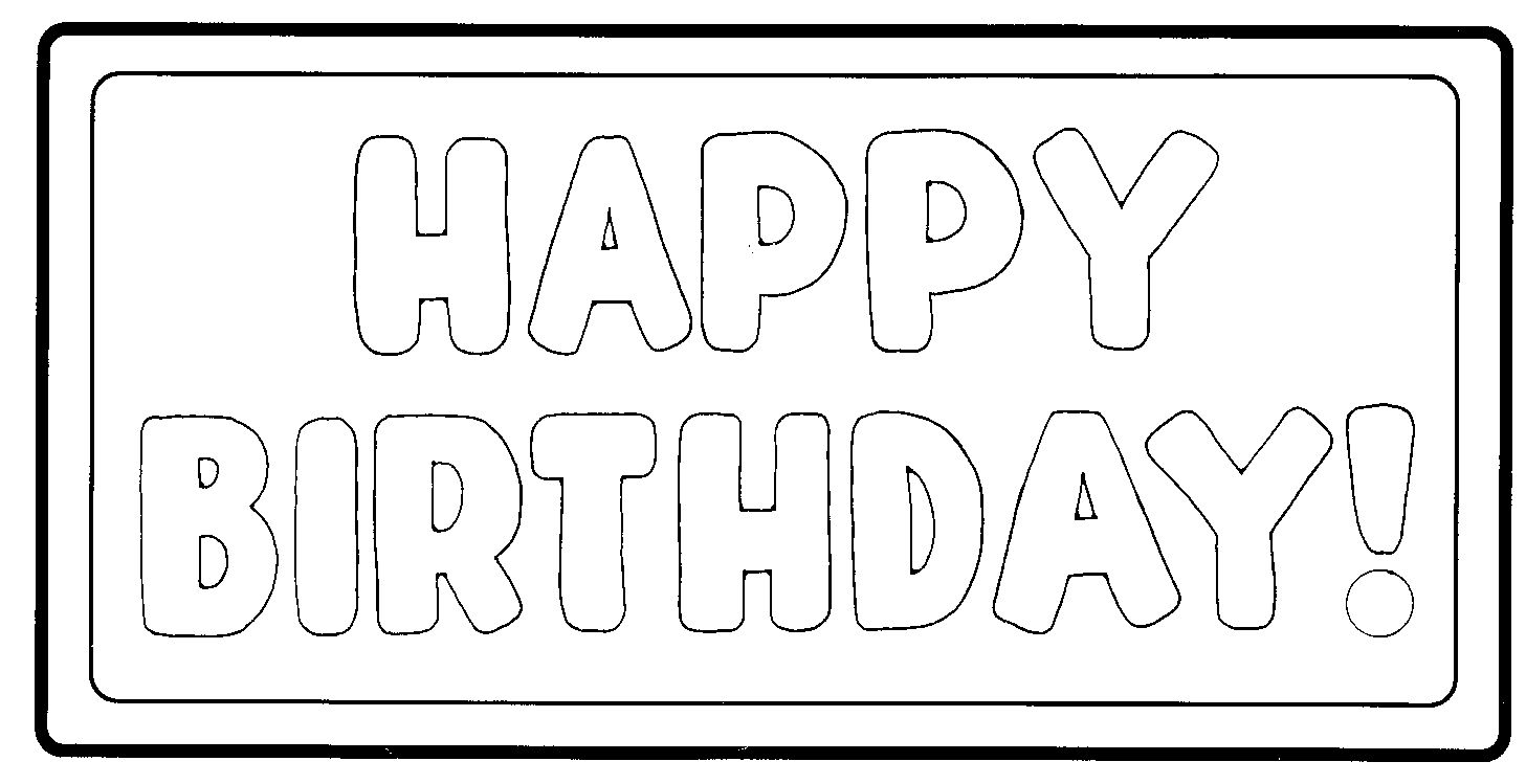 Happy birthday banner clipart black and white jpg freeuse download Happy Birthday Banner Clipart Black And White | Website Templates jpg freeuse download