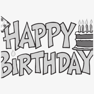 Happy birthday banner clipart black and white clipart free download Banner Clipart Happy Birthday - Happy Birthday Banner Clipart ... clipart free download