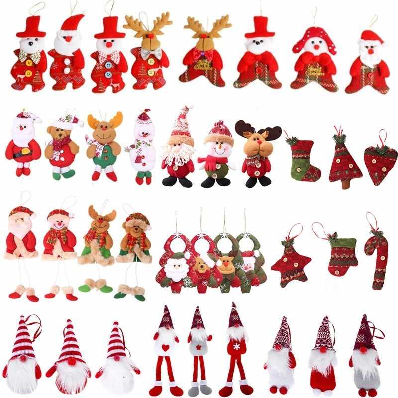 Happy birthday banner santa clause stockings clipart banner transparent library Detail Feedback Questions about 2018 Christmas Santa Claus Snowman ... banner transparent library