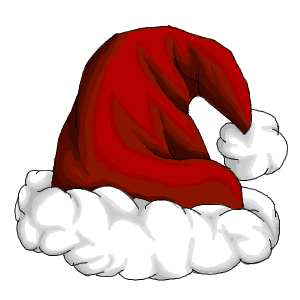 Happy birthday banner santa clause stockings clipart image black and white CHRISTMAS, SANTA HAT CLIP ART | CLIP ART - SANTA CLAUS - CLIPART ... image black and white