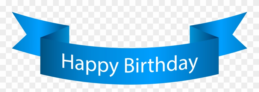 Happy birthday banners clipart svg library download Clip Art Happy Birthday Banner Blue Png Transparent Png (#99201 ... svg library download