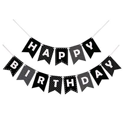 Happy birthday bel air font clipart clip Decomod Happy Birthday Banner Bunting Laser Cut Felt 60 inches wide ... clip