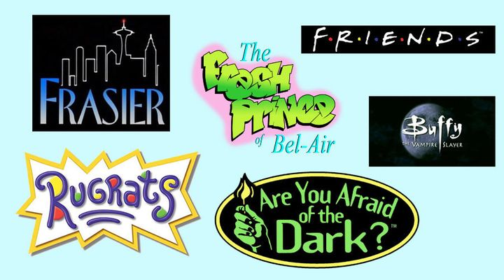 Happy birthday bel air font clipart image free library You Can Now Download And Use The Fonts Of Your Favorite \'90s TV ... image free library