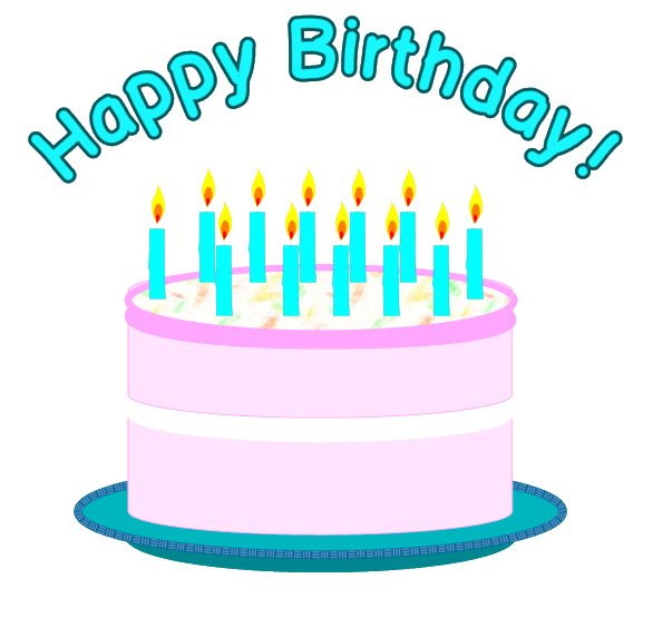 Happy birthday cake clipart svg transparent library Happy Birthday Cake Clipart - Clipart Kid svg transparent library