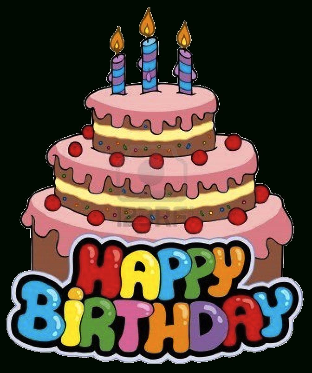 Happy birthday cake clipart transparent jpg library library Happy Birthday Cake Clipart Transparent | lacalabaza jpg library library