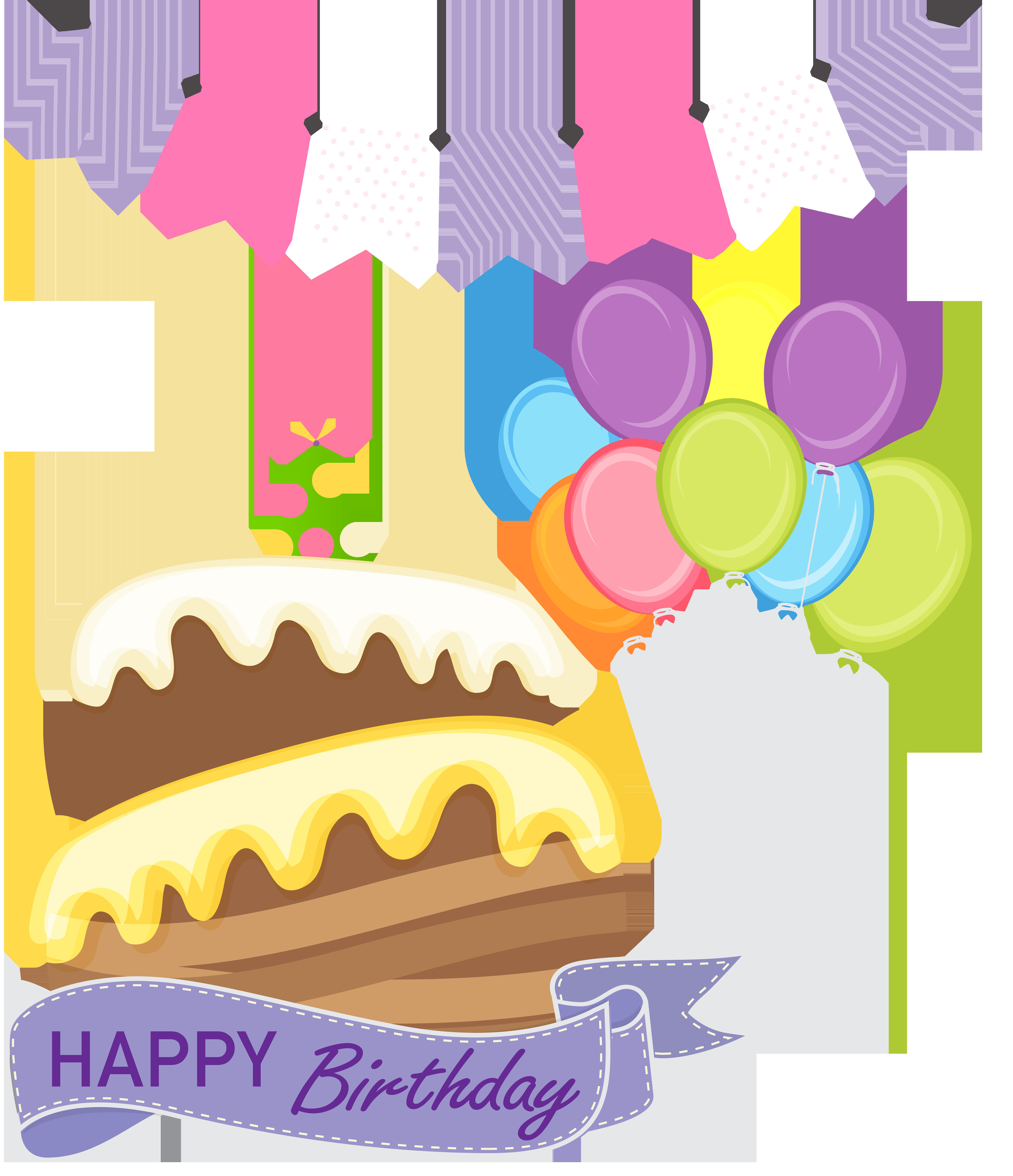 Happy birthday cake free clip art clip art stock Happy Birthday Cake PNG Clip Art Image   Gallery Yopriceville ... clip art stock
