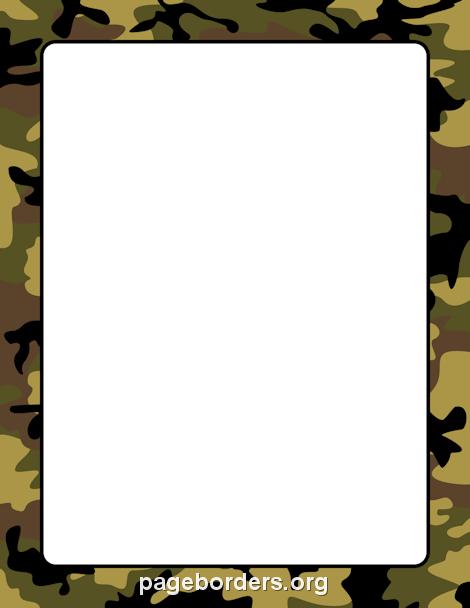 Happy birthday camo clipart clip art royalty free Camouflage Border | birthday | Page borders, Camo birthday ... clip art royalty free