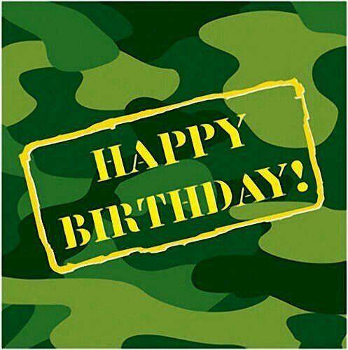 Happy birthday camo clipart image free library Camo Birthday | Graphics & Clip Art | Army\'s birthday, Camo party ... image free library
