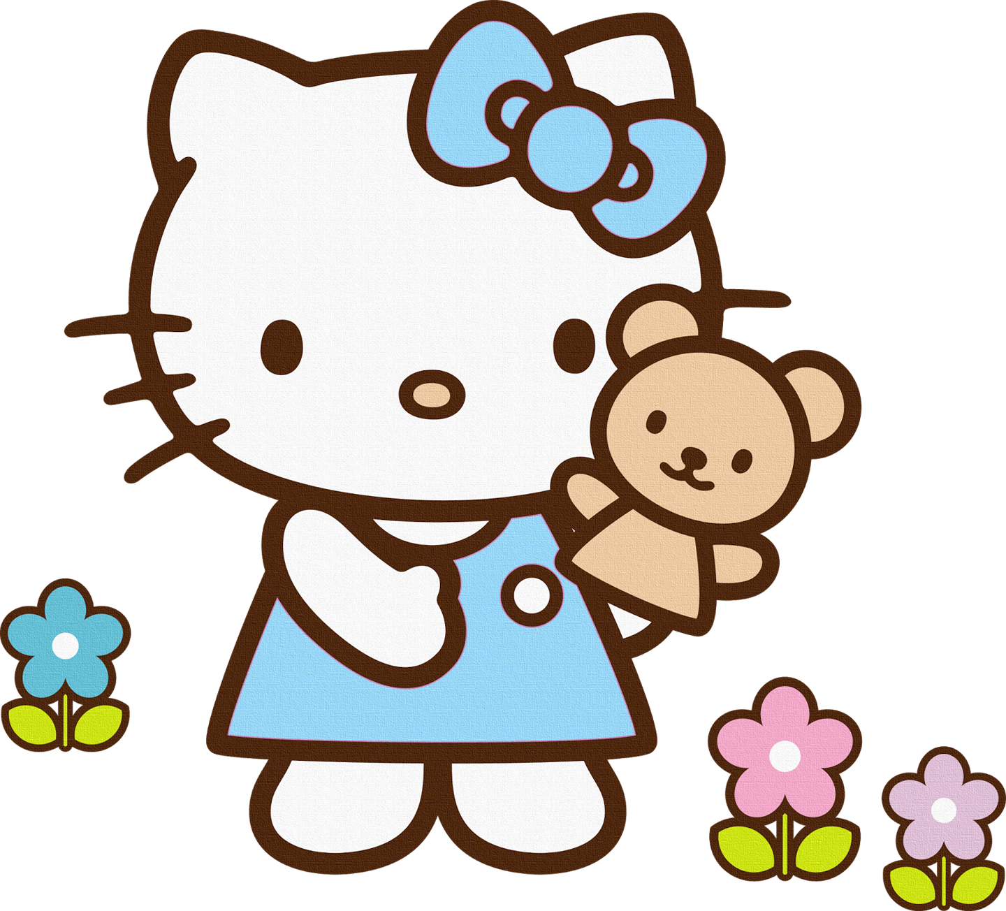 Happy birthday cat clipart image freeuse library Free Hello Kitty ClipArt No 3 | Hello Kitty & Friends | Pinterest ... image freeuse library