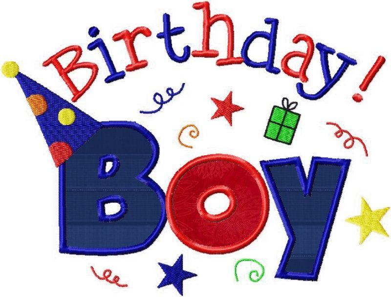 Happy birthday clipart boy 15 svg transparent Happy Birthday Boy 15 - 800 X 608 - Making-The-Web.com svg transparent
