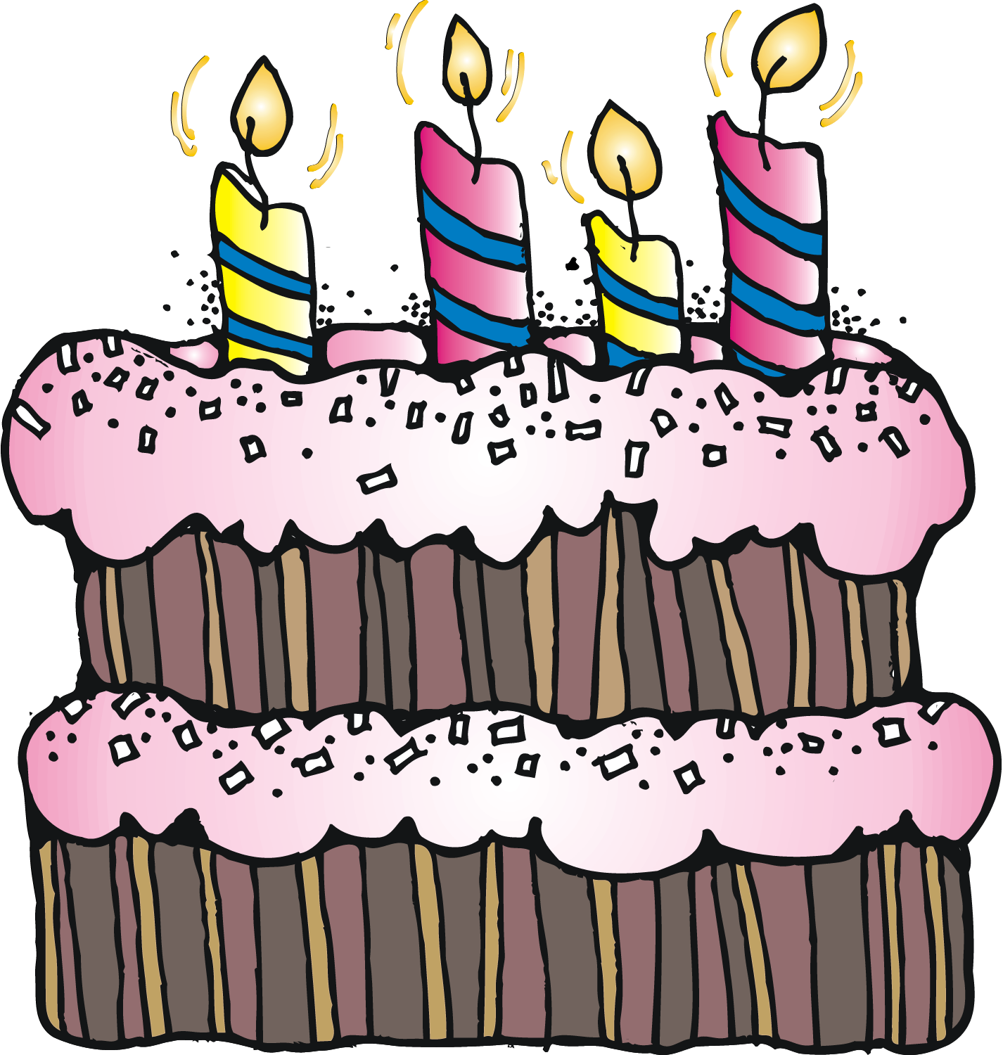 Happy birthday clipart cake banner royalty free stock Pin by Laura Bosque on Rutines i rètols aula | Pinterest | Clip art ... banner royalty free stock