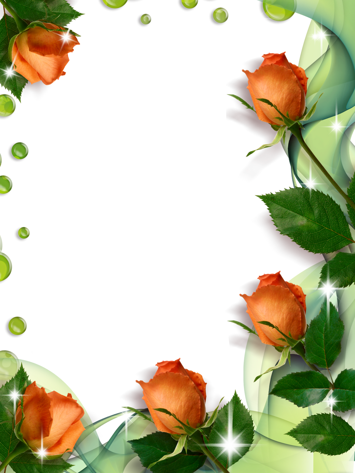 Vertical flower border clipart clipart library Pin by Emagrecer com vida e saúde on ☆ Frαмєs ☆ | Pinterest ... clipart library
