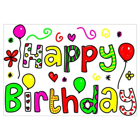 Happy birthday clipart for facebook image library download Happy Birthday Art For Facebook Wall - Makipera.com image library download