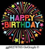 Happy birthday clipart for her free graphic free Happy Birthday Clip Art - Royalty Free - GoGraph graphic free