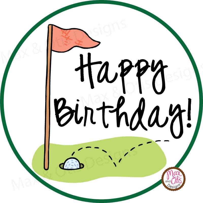 Happy birthday clipart for the golfer image stock Hershey Kisses Clipart | Free download best Hershey Kisses Clipart ... image stock
