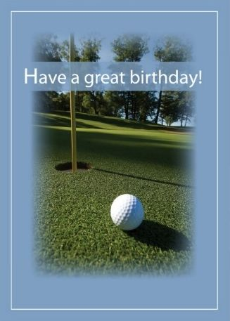 Happy birthday clipart for the golfer graphic download Happy Birthday - Golf - o.k. for man - Custom edit by lechezz ... graphic download