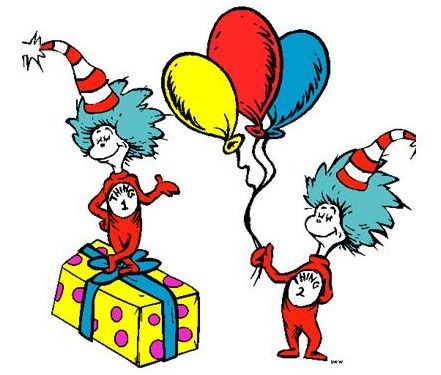 Happy birthday dr seuss clipart banner Dr. Seuss Birthday Clip Art | For more information, stop by the ... banner